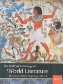 Bedford Anthology of World Literature Pack A
