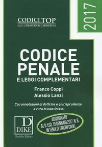 Codice penale e leggi complementari 2017