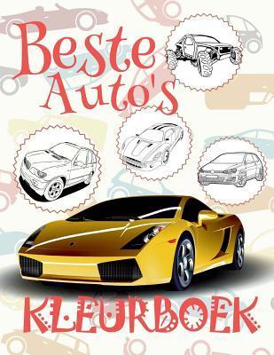 Beste Auto's Kleuring Kinderen Auto's Kleurboek Cars Coloring Book Young Boy