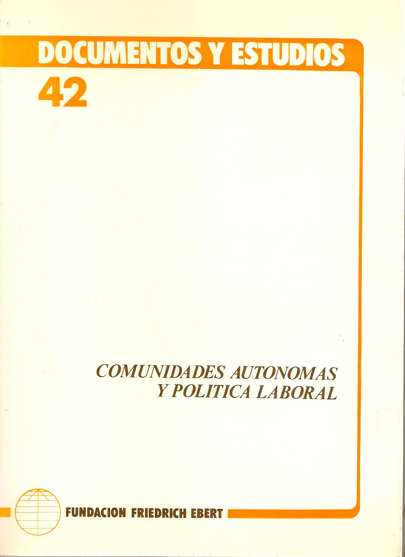 Comunidades autónomas y política laboral