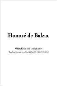 Honori De Balzac