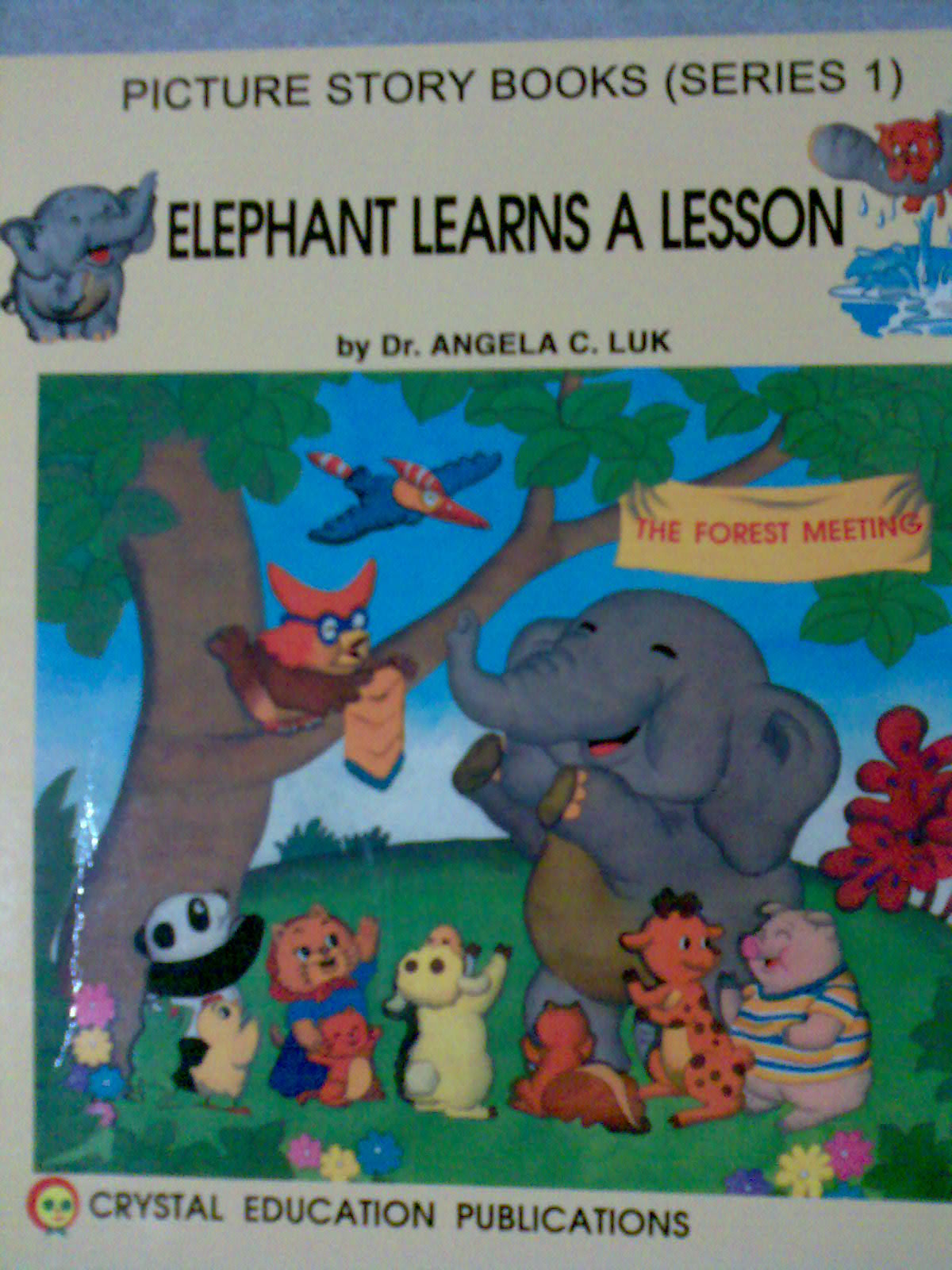 elephant learns a lesson