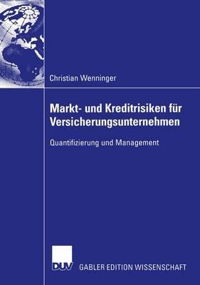 Markt- Und Kreditrisiken Fur Versicherungsunternehmen