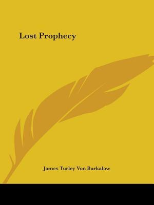 Lost Prophecy 1924