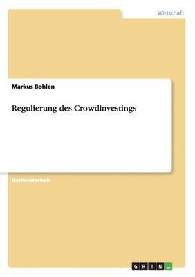 Regulierung des Crow...