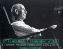 To Remember a Vanishing World