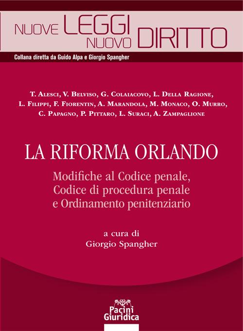 La riforma Orlando