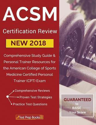 ACSM New 2018 Certif...