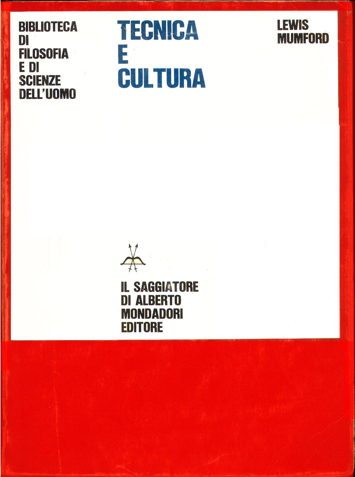 Tecnica e cultura