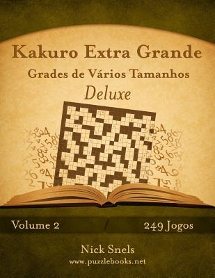 Kakuro Extra Grande Grades De Vários Tamanhos