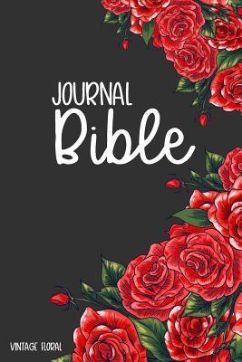 Journal Bible Vintage Floral