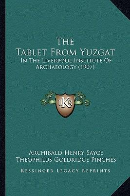 The Tablet from Yuzgat