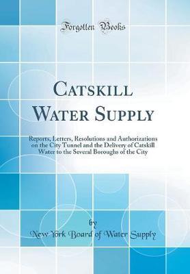 Catskill Water Supply