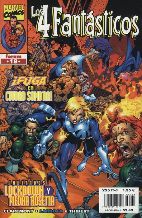 Los 4 Fantásticos Vol.3 #18 (de 34)