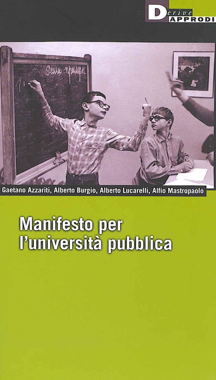 Manifesto per l'università pubblica