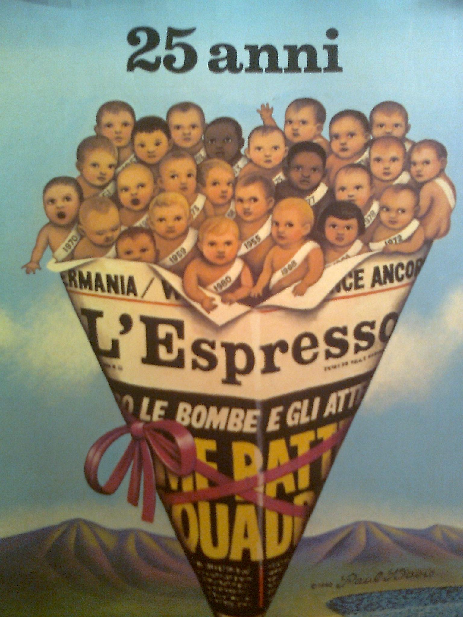L'Espresso 1955 - 1980