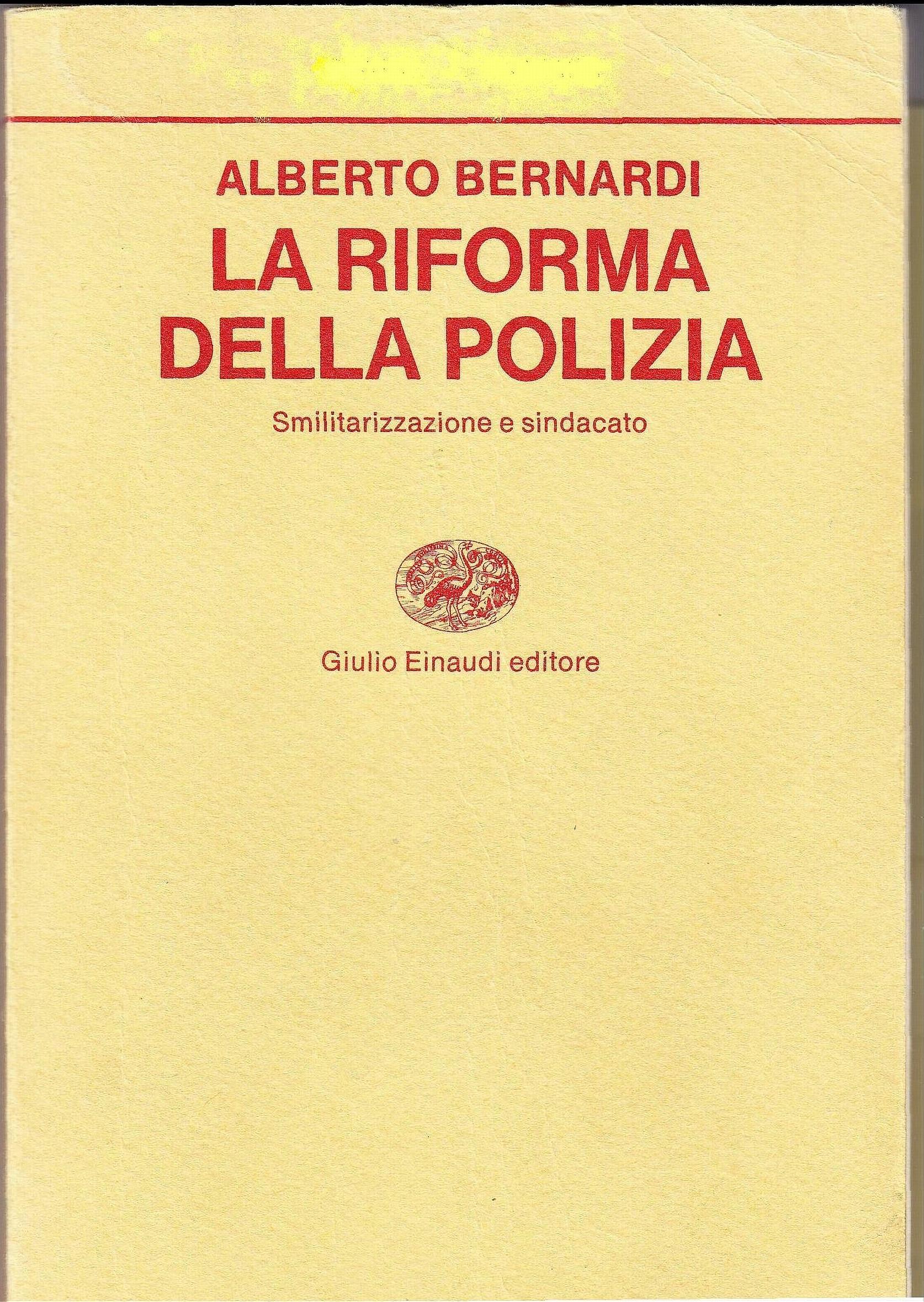 La riforma della Polizia