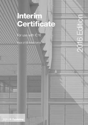 Interim Certificate for IC16