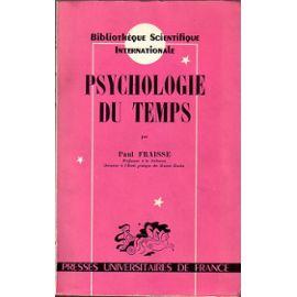 Psychologie du temps