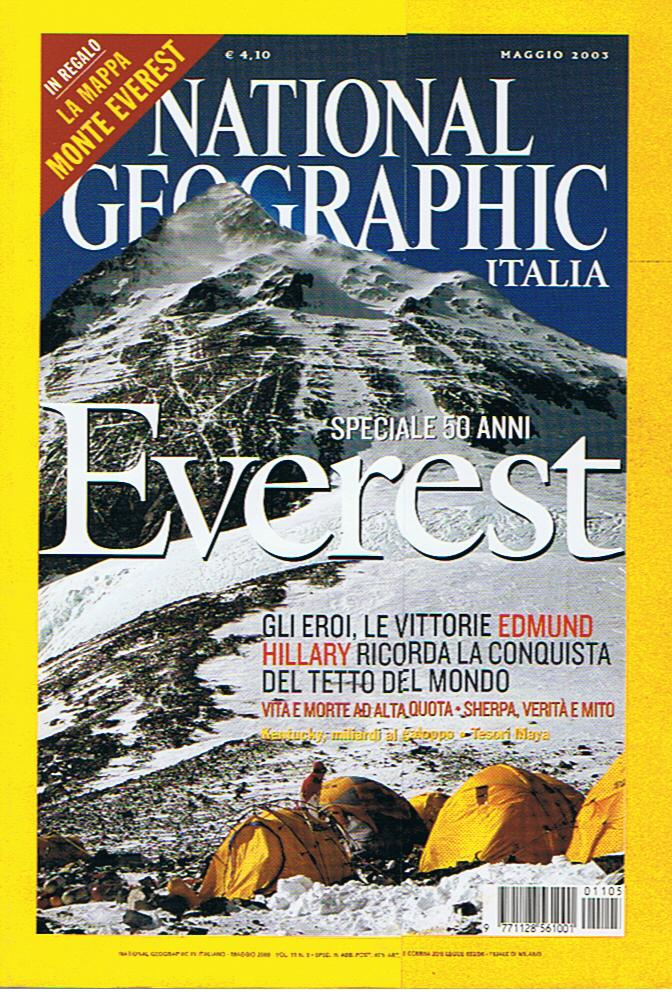 National Geographic Italia: Everest - Speciale 50 anni