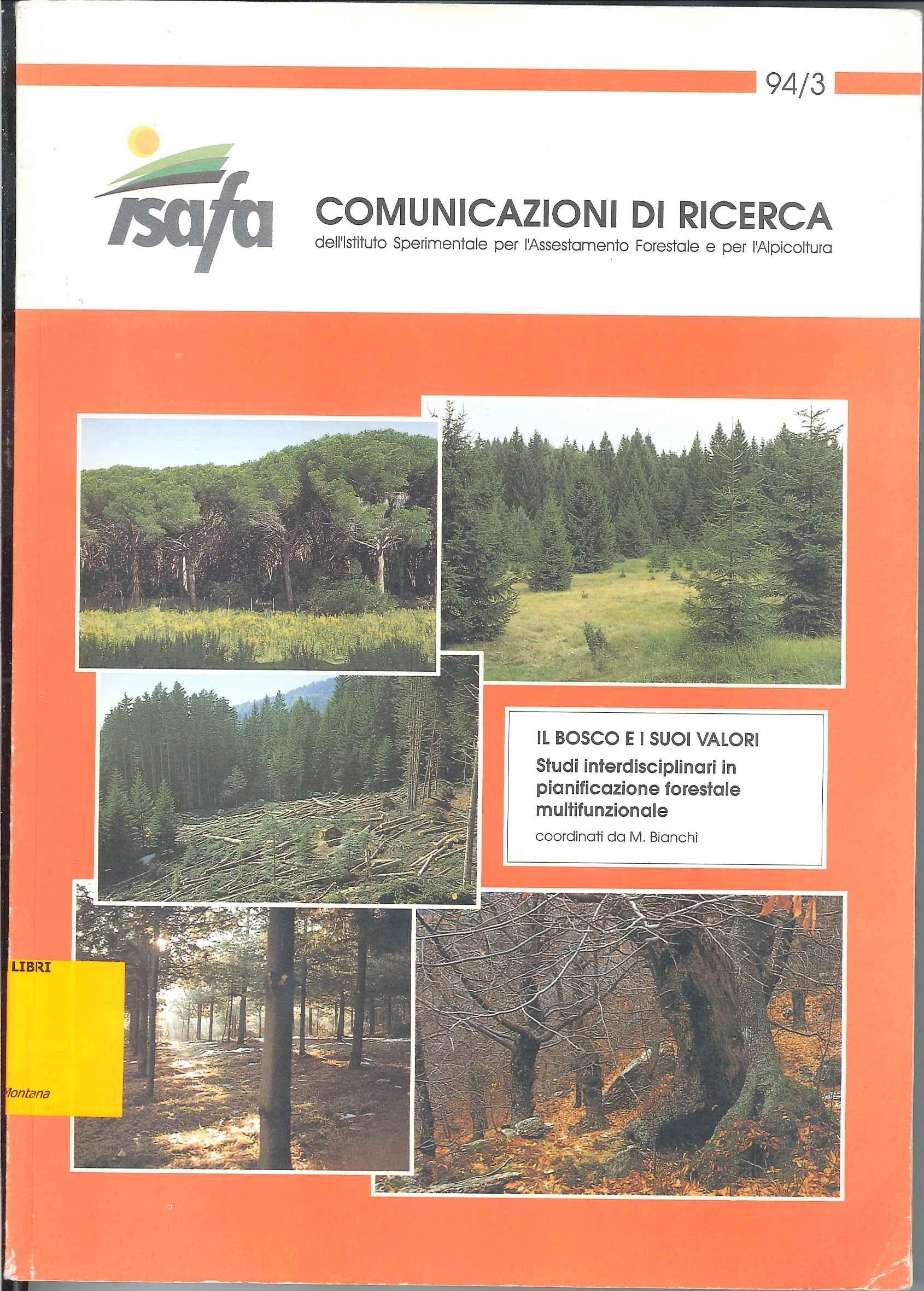 Il bosco e i suoi valori