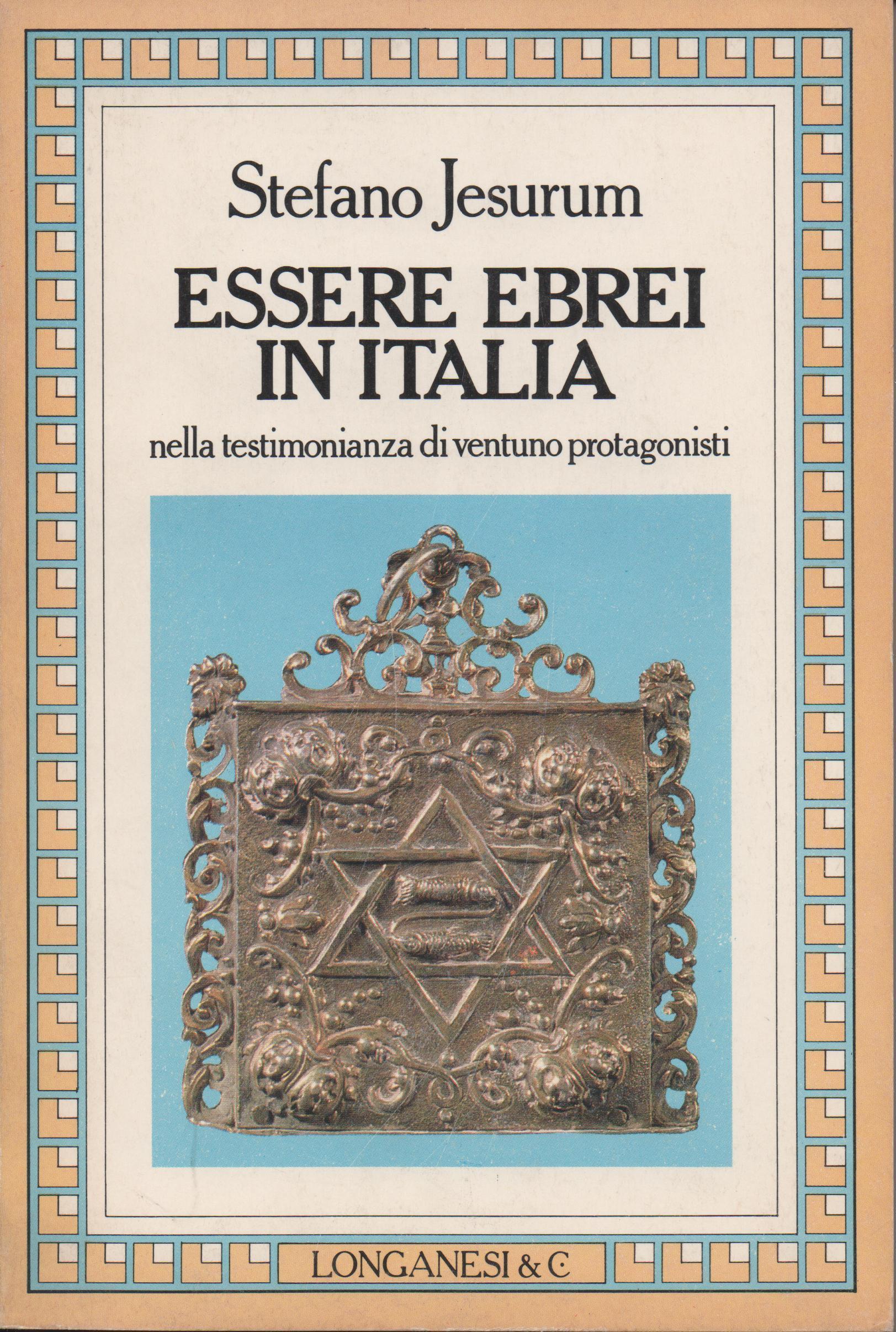 Essere ebrei in Italia