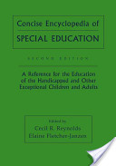 Concise Encyclopedia of Special Education