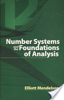 Number Systems and the Foundations of Analysis