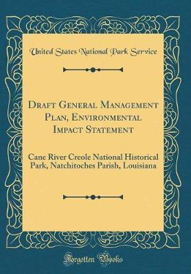 Draft General Manage...