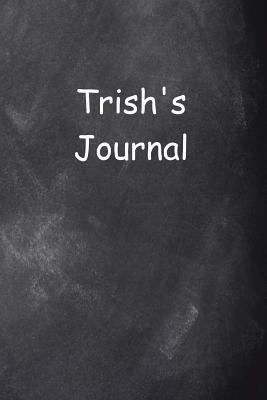 Trish Personalized Name Journal Custom Name Gift Idea Trish