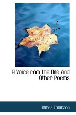 A Voice Rom the Nile and Other Poems