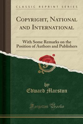 Copyright, National and International