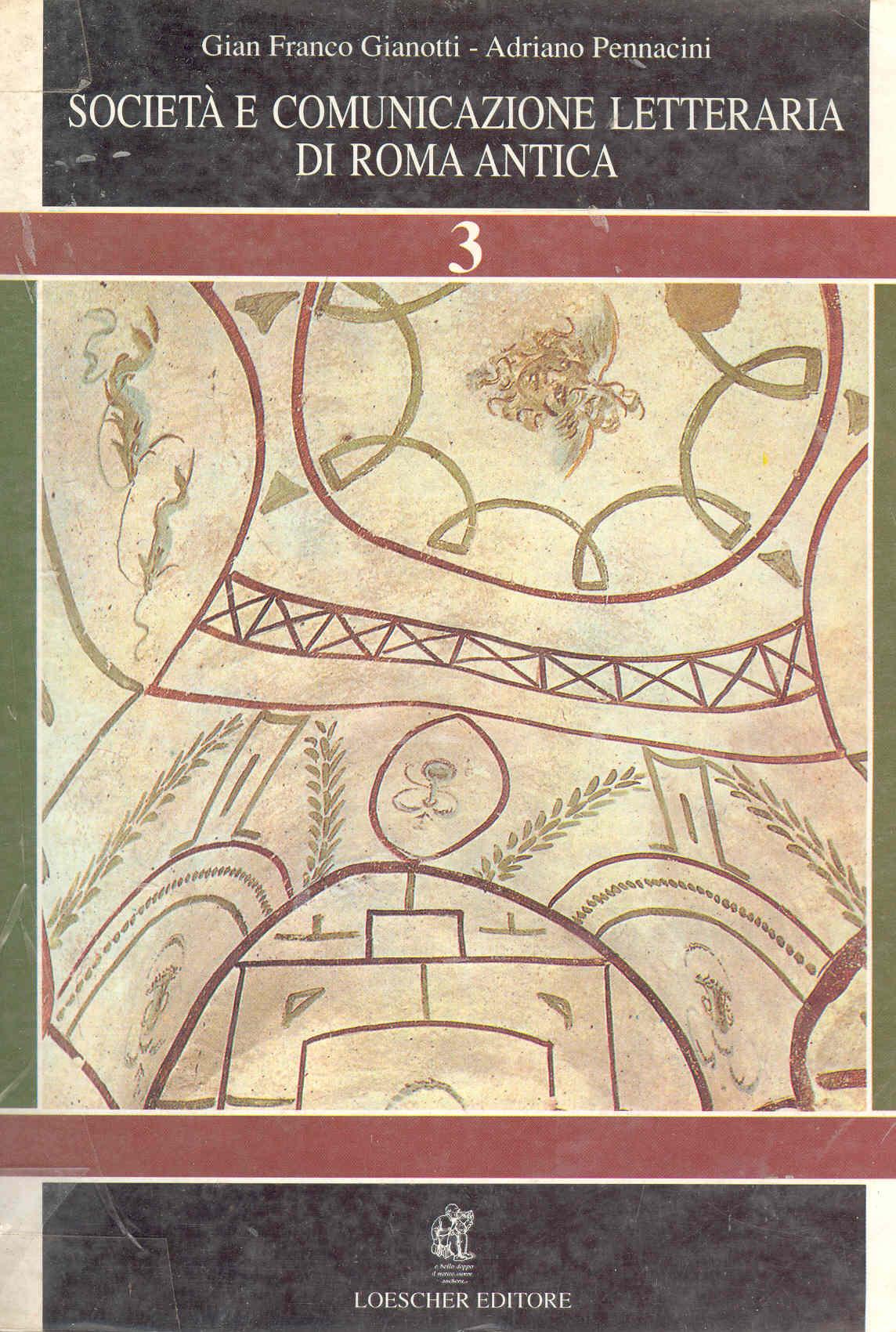 Società e comunicazione letteraria di Roma antica