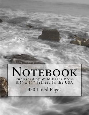 Ocean Waves and the Flowing Tide Notebook