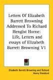 Letters Of Elizabeth...