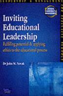 Inviting Educational Leadership