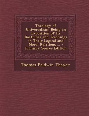 Theology of Universalism