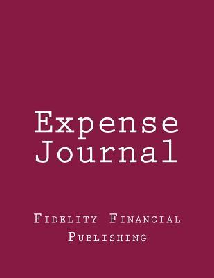 Expense Journal Red Cover