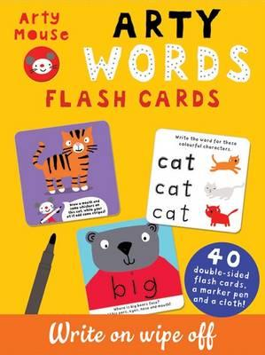Arty Words Flash Cards (Arty Mouse Write on Wipe Off Flash Cards)
