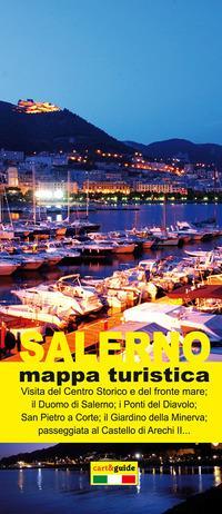 Salerno. Mappa turistica di Salerno. Ediz. italiana e inglese