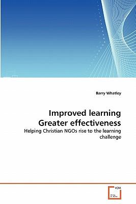 Improved learning Greater effectiveness