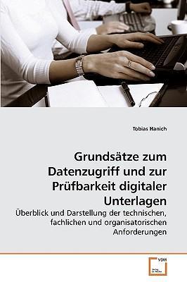 Grundsätze zum Datenzugriff und zur Prüfbarkeit digitaler Unterlagen