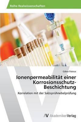 Ionenpermeabilität einer Korrosionsschutz-Beschichtung