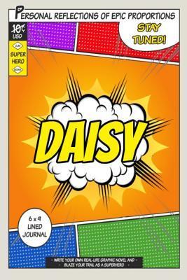 Superhero Daisy Journal