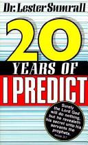 Twenty Years of I Predict