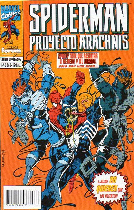 Spiderman: Proyecto Arachnis #6 (de 6)