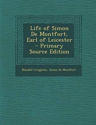 Life of Simon de Montfort, Earl of Leicester