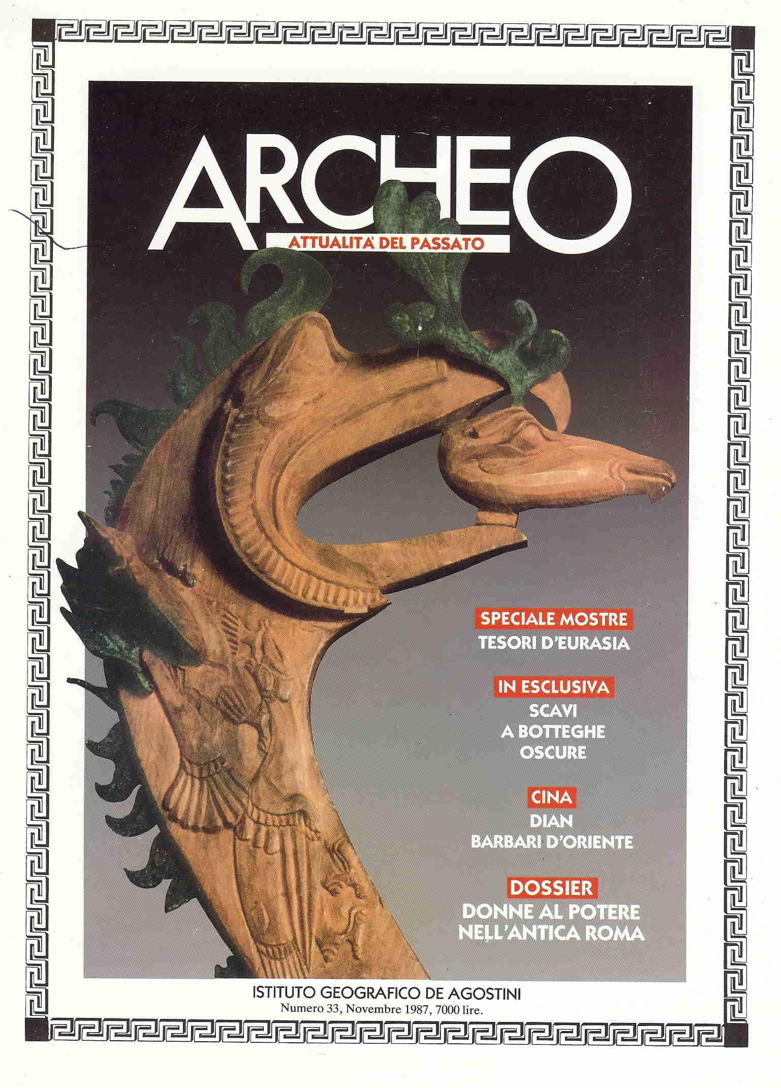 Archeo, attualità del passato n.33