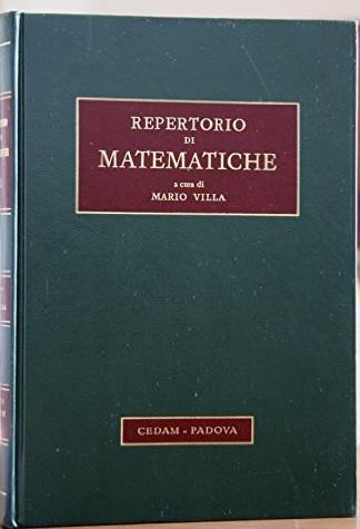 Repertorio di matematiche - vol. 3