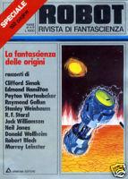 Robot Speciale 1 : La fantascienza delle origini